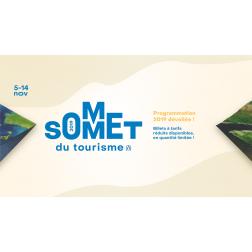 Le Sommet du tourisme du 5 au 14 novembre 2019
