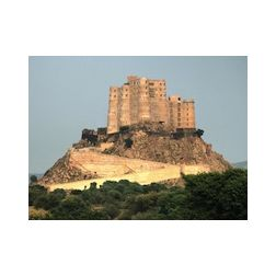 Une forteresse transformée en hôtel en Inde