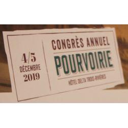 Congrès Fédération des pourvoiries du Québec (FPQ): nouveau président CA, Les prix...