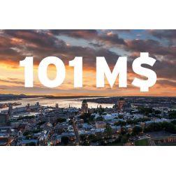 Centre des congrès de Québec : un bilan pour 2017-2018 de 101 M$