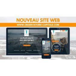 Nouveau site Web pour l'Observatoire de la Capitale