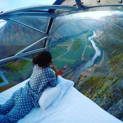 Cet hôtel au Pérou est situé à 1200 pieds d'altitude