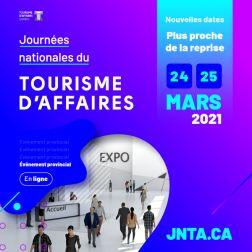 Journées nationales du Tourisme d'Affaires les 24 et 25 mars 2021