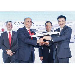 Air China et Air Canada créent la première coentreprise aérienne réunissant la Chine et l'Amérique du Nord