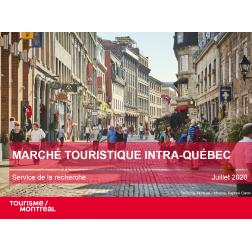 Étude Tourisme Montréal: Marché touristique intra-Québec