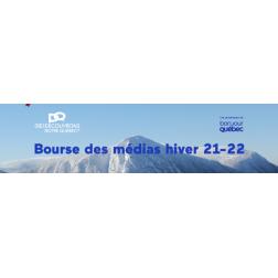 INSCRIPTION avant le 28 septembre: Bourse des médias 2021 de l'industrie touristique québécoise 100% virtuel les 5 et 6 octobre