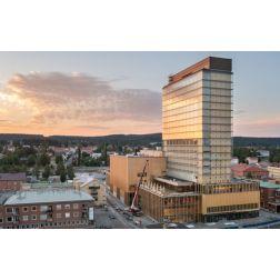 Suède: Un nouvel hôtel, un centre culturel... la plus haute structure durable au monde