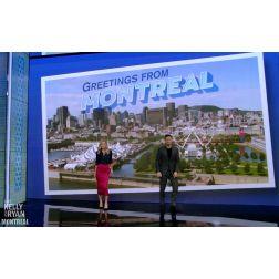 Retombées médiatiques: Montréal à l'honneur sur l'émission américaine «Live with Kelly and Ryan» sur ABC et CTV...