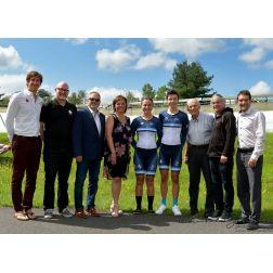 Nouveau vélodrome intérieur pour le Centre national cyclisme de Bromont (CNCB)