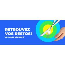 «Retrouvez vos restos! En toute sécurité» - Campagne promotionnelle de l'ARQ
