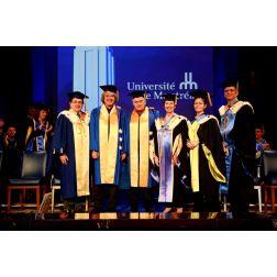 Un doctorat honoris causa de l'Université de Montréal décerné à Alain Simard et André Ménard