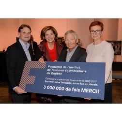 3 M$ Fondation de l'ITHQ
