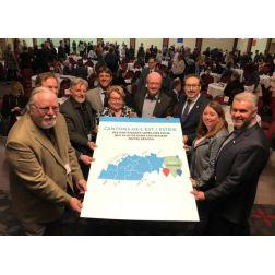 Les 9 MRC des Cantons-de-l'Est s'unissent autour d'une stratégie d'attractivité