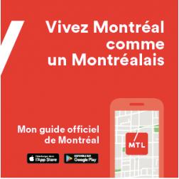 Lancement de l'application mobile Mon guide MTL
