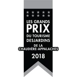 Chaudière-Appalaches - finalistes de la 33e édition des Grands Prix du tourisme Desjardins