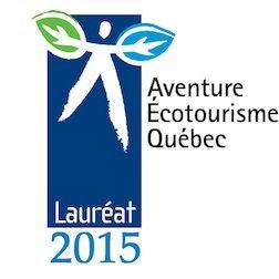 Les Prix Excellence 2015 soulignent l'excellence des entreprises en tourisme d'aventure!