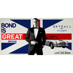 James Bond ambassadeur de VisitBritain
