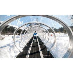 Ski Montcalm: Premier tapis roulant couvert au Québec (août 2019)