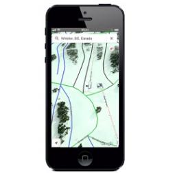 Des pistes de ski nord-américaines sur Google Maps