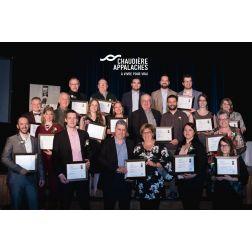 Lauréats Chaudière-Appalaches - 33e édition Grands Prix du tourisme