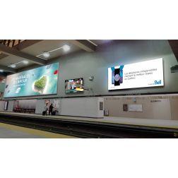 Astral et Transgesco revitalisent et numérisent leur offre dans le métro de Montréal