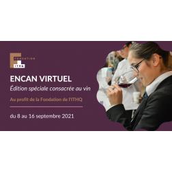 Encan virtuel, édition spéciale consacrée au vin au profit de la Fondation de l'ITHQ du 8 au 16 septembre 2021