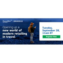 WEBINAIRE GRATUIT: Opening up a new world of modern retailing in travel le 28 septembre à 11h