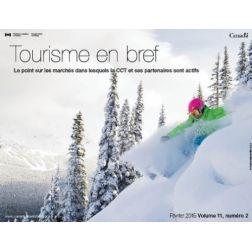 Février 2015: de plus en plus de voyages au Canada