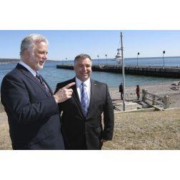 Québec prendra en charge le quai de Percé