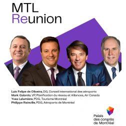 Le Palais des congrès de Montréal crée MTL Reunion : sa première conférence internationale pour repenser l'avenir ensemble!