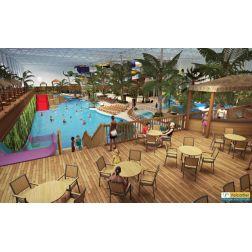 Le parc aquatique intérieur et l'hôtel du Village Vacances Valcartier ouvriront comme prévu en décembre 2016