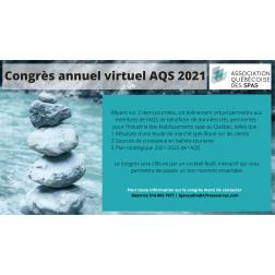 Le congrès annuel de l'Association québécoise des spas revient en force, après un an d'absence