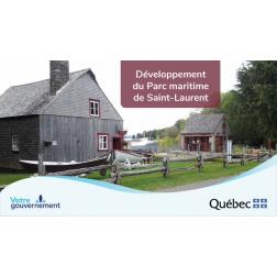Un investissement de 532 000$ pour la mise en valeur du Saint-Laurent touristique à l'île d'Orléans