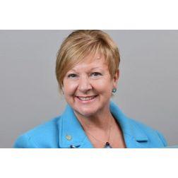 Claire Gaudet à la Chambre de commerce et de tourisme de Gaspé