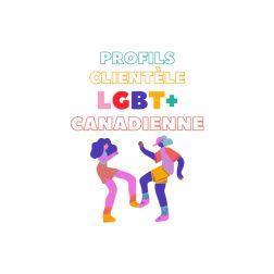Chaire de tourisme Transat: Analyse - Profils de la clientèle LGBTQ+ canadienne