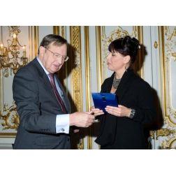 Nathalie Bondil reçoit le Prix Samuel de Champlain