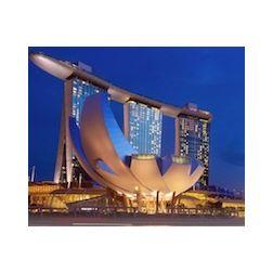 Singapour : une piscine bâtie sur trois immeubles d'un hôtel