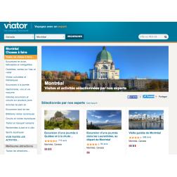 Viator, une plate-forme de réservation pour visites et activités touristiques