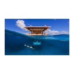 Une chambre d'hôtel sous-marine en Tanzanie