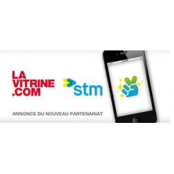 Partenariat entre la STM et La Vitrine