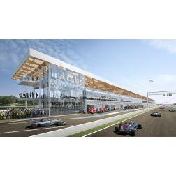 Réfection des paddocks du circuit Gilles-Villeneuve - Un prix prestigieux en architecture