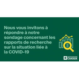 Sondage Destination Canada