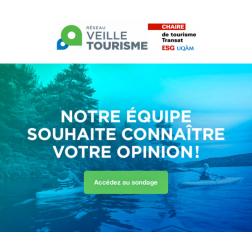 Sondage Réseau de veille en tourisme - Chaire de tourisme Transat
