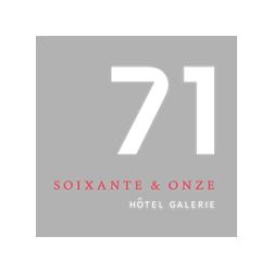 L'Hôtel 71 s'affilie au réseau «Preferred Hotels & Resorts et obtient une place d'honneur...
