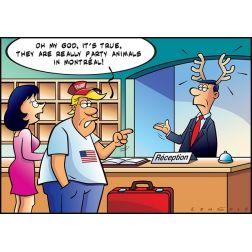 Opinions & Humeurs: On est tous des caribous...
