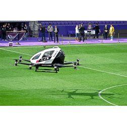 Le taxi drone a transporté ses premiers passagers