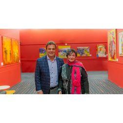Le Palais des congrès de Montréal - une vitrine aux artistes du Québec 170 oeuvres