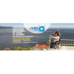 Kéroul: 3e édition brochure «Le Québec pour tous» - c'est gratuit!