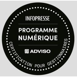 Infopresse et Adviso lancent un programme de certification numérique