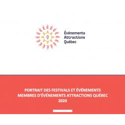 Portrait des festivals et événements membres d'Événements Attractions Québec 2020
